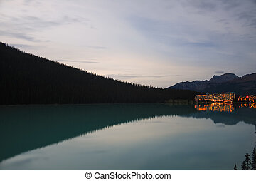 Scenic View of Lake Louise