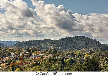 Mount Talbert in Happy Valley Oregon