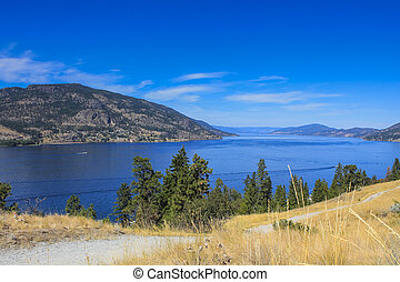 Scenic view of Okanagan Valley, BC