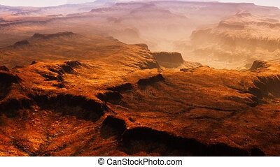 Scenic view of sunrise in Grand Canyon national park