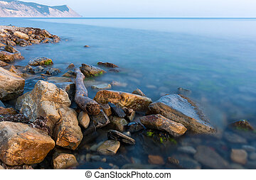 Scenic view of the Black Sea, Anapa, Russia
