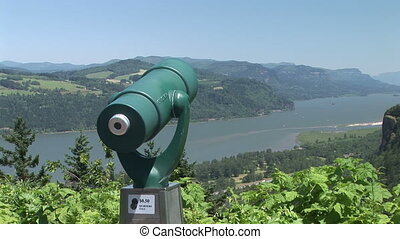 Scenic View on the Columbia River