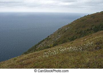 Scenic Vistas from Skyline Trail, Cape Breton Highlands National Park, Nova Scotia, Canada