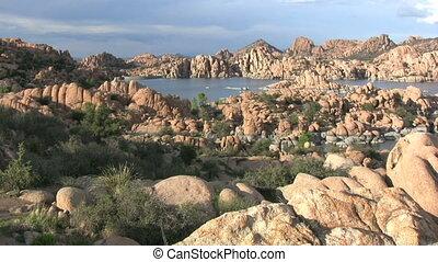 Scenic Watson Lake Prescott Arizona