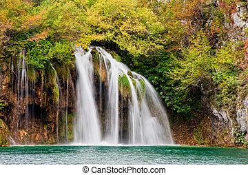 scenico, cascata
