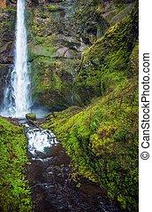 scenico, oregon, waterfallls