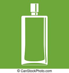 Scent bottle icon green