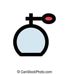 scent  flat color icon