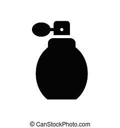 scent glyph flat icon
