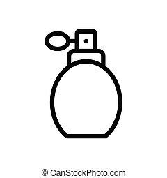 scent  thin line icon