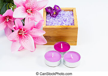 Scented bath products