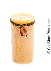 scented candle - object on white - scented candle