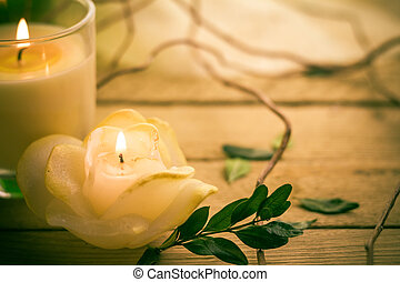 Scented candles attributes rest relaxation - Scented candles...