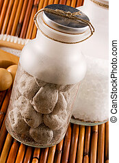 Scented  Stones - Scented pumice stones and bath salt