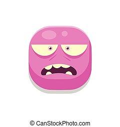 Sceptic Monster Square Icon