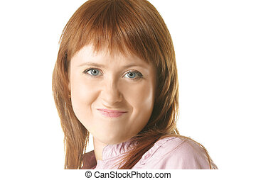 Sceptic redhead