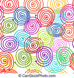 schéma tourbillon, conception abstraite, ton