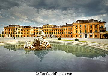 """Schönbrunn Palace Vienna, Austria - Palace """"Schönbrunn""""..."""