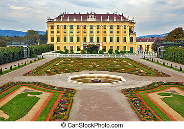 Schönbrunn - the summer residence of the Austrian Habsburgs