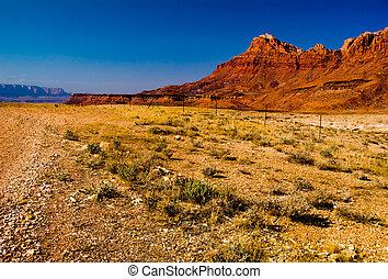 schöne , arizona, landschaftsbild
