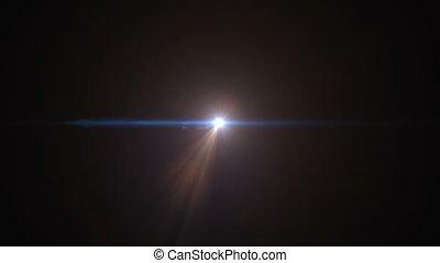 schöne , großer knall, universum, creation., riesig, zuerst, explosion, und, schöpfung, von, sternen, und, galaxien, in, space., hd, 1080.