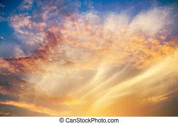 schöne , in, der, himmelsgewölbe