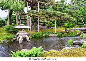 Teich kleingarten sch ne teich nat rlich kleingarten - Japanischer kleingarten ...