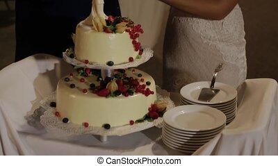 schöne , kuchen, ereignis, festlicher