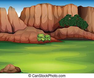 schöne , landschaftsbild