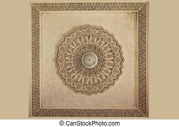 schöne , marokkanisch, architecture.