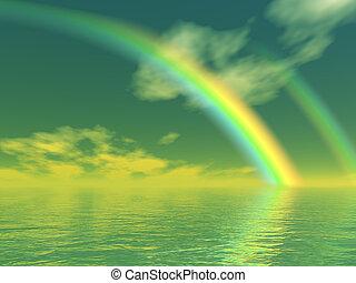 schöne , regenbogen