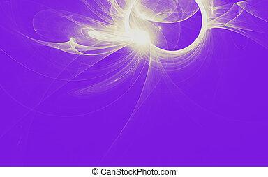 schöne , rosa, violett, abstrakt, fractal, hintergrund