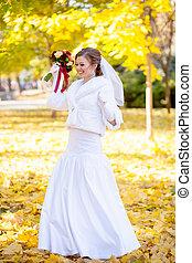 schöne , sanft, braut, wedding