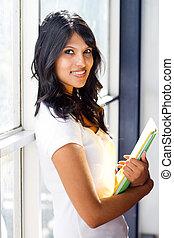 schöne , spanisch, student