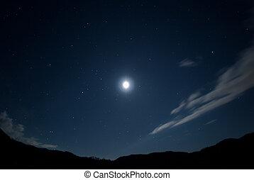 schöne , sternenhimmel