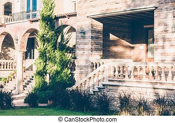 schöne , stil, italien, architektur