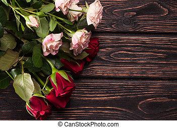 schöne , strauß rosen
