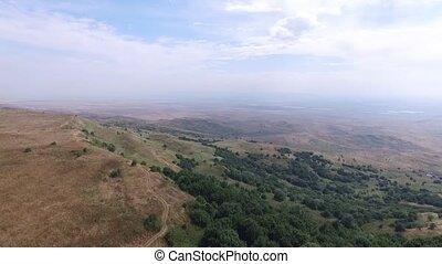 schöne , tal, in, caucasus, berge, strizhament., nord,...
