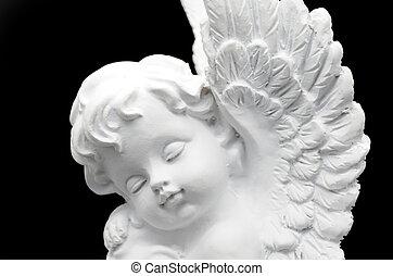 schöne , weißer engel