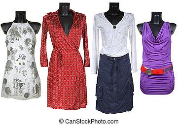 schöne , weibliche , kleiden