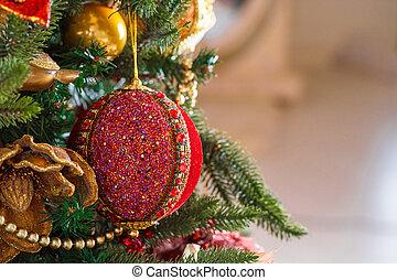 Schone Weihnachten Wohnzimmer Mit Dekoriert Weihnachtsbaum