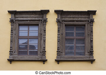 schöne , windows, architektur