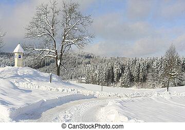 schöne , winter