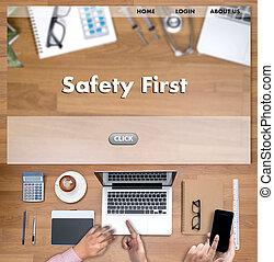 schützen, risiko, aufmerksamkeit, warnung, sicherheit,...