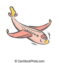 schaaf, straalvliegtuig