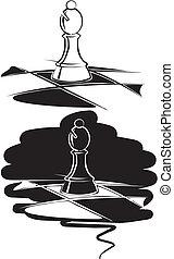 schaakspel, bisschop