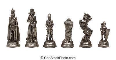 schaakspel, figuren
