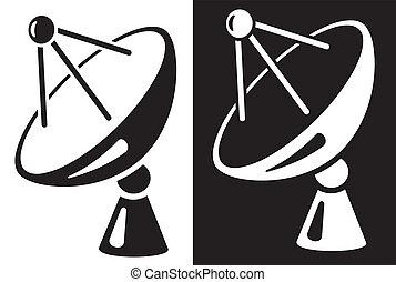 schaaltje, satelliet