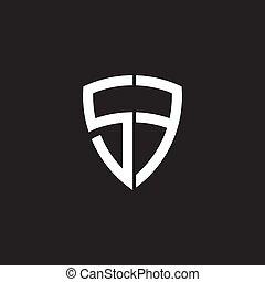 schablone, abzeichnen, sf, ikone, design, brief, logo, ...