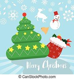 Weihnachtsmotive Zum Kopieren.Thema Weihnachten Schablone Karte Raum Text Vektor Frei